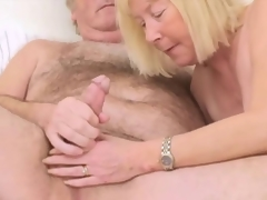 Hairy Grand-dad with Wed